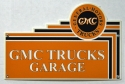 GMC Trucks Garage Sign