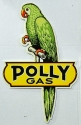 Polly Die Cut Metal Sign
