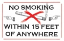 Smoking & No Smoking Signs